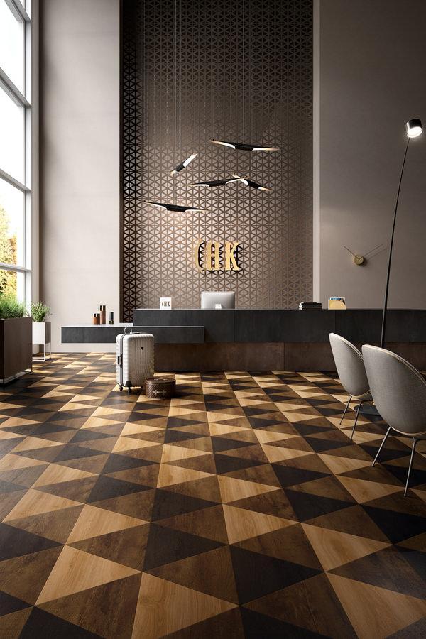 MO 111 Triangles Luxury Impress Country Oak 54880 en 54991 Transform Classic Oak 24235 ROOMSHOT